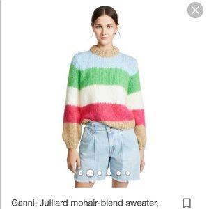 Ganni, Julliard mohair-blend sweater, Knitwear, S